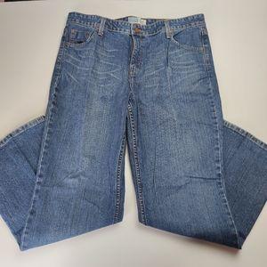 Levi's Signature Mid Rise Bootcut Jeans Miss Sz 18